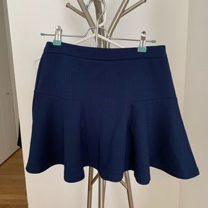 FOREVER21 Royal blue circle skirt